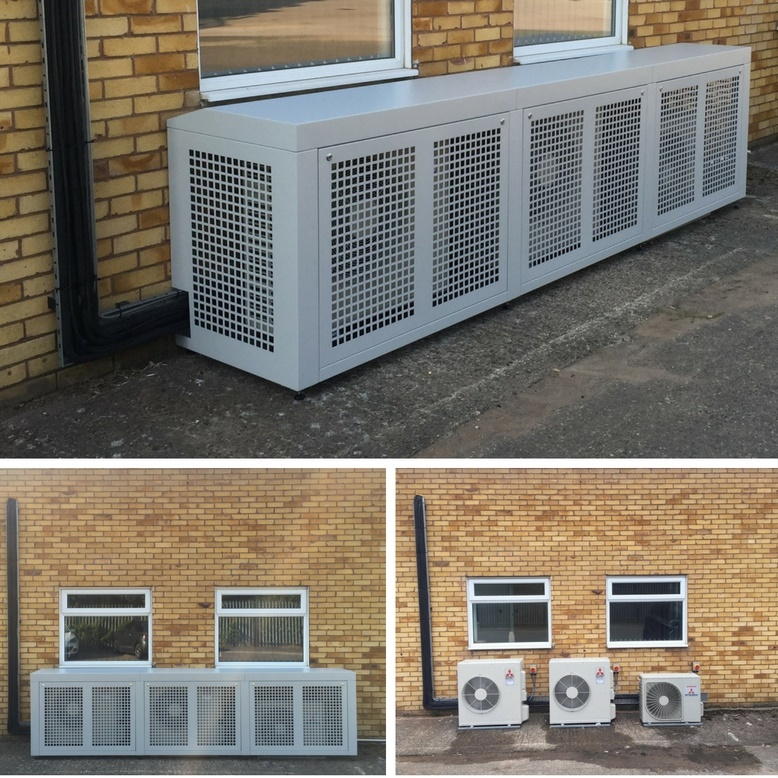 Air Conditioning Cages Posh Boxes Clarke Delta